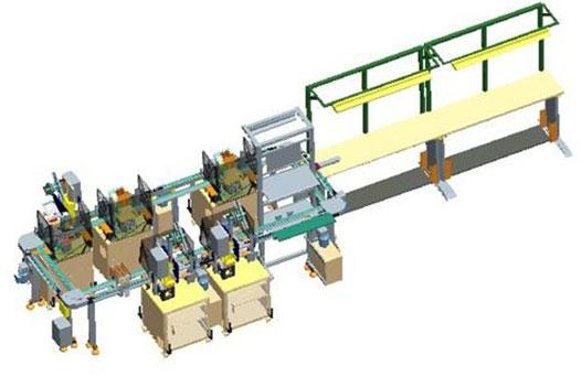 模块化生产自动线